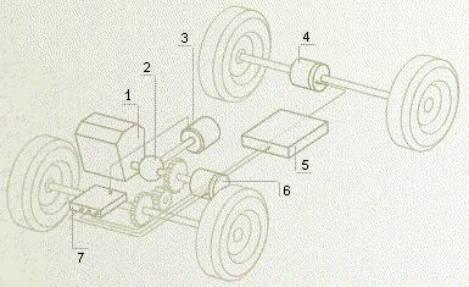 и схема гибридной силовой